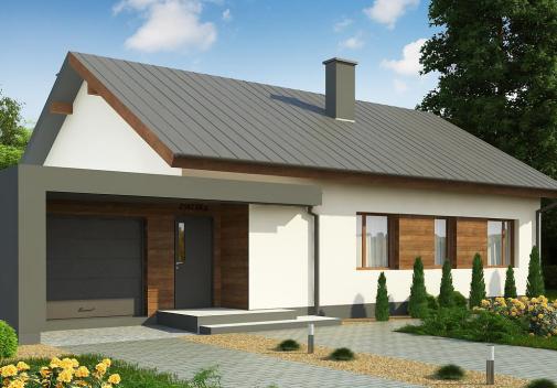 Проект дома Z182 GL P HB