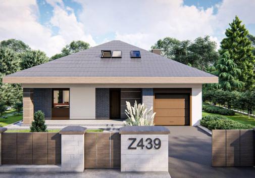 Проект дома Z439
