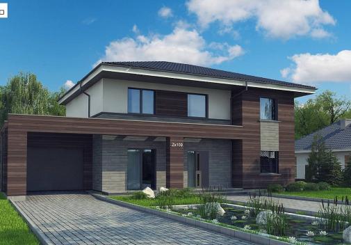 Проект дома Zx109 v1