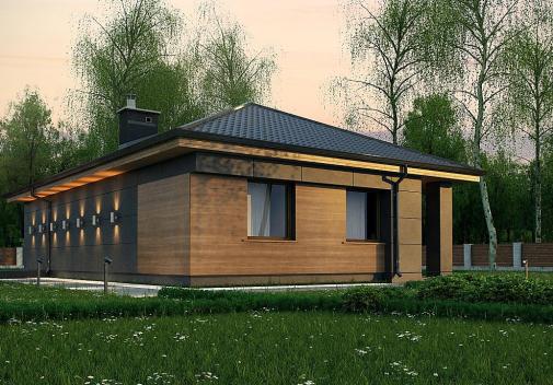 Проект дома Z356