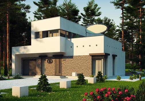 Проект дома Zx46 minus