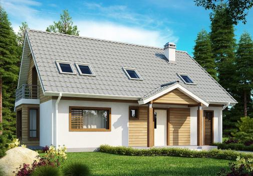 Проект дома Z95