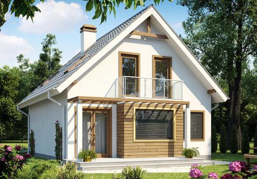 Проекты компактных домов до 150 м2 Z99