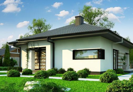 Проект дома Z383