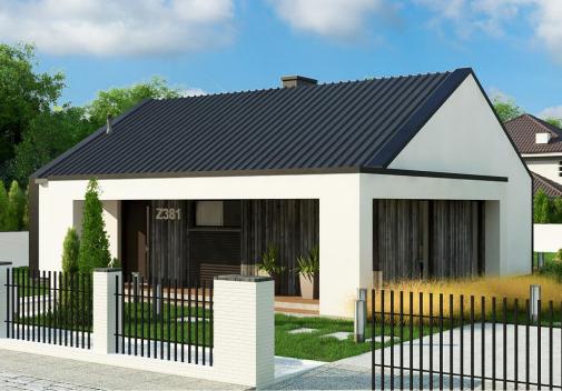 Проект дома Z381