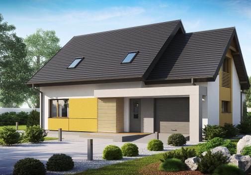 Проект дома Z219