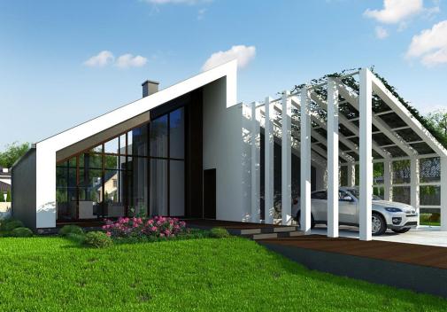 Проект дома Zx201