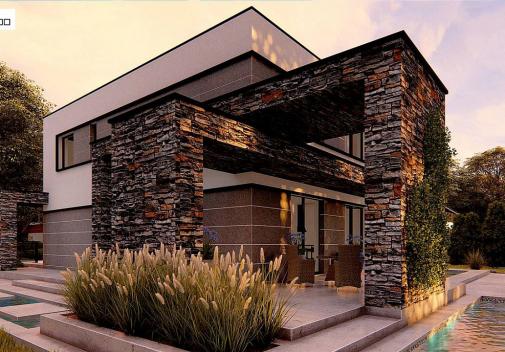 Проект дома Zx164
