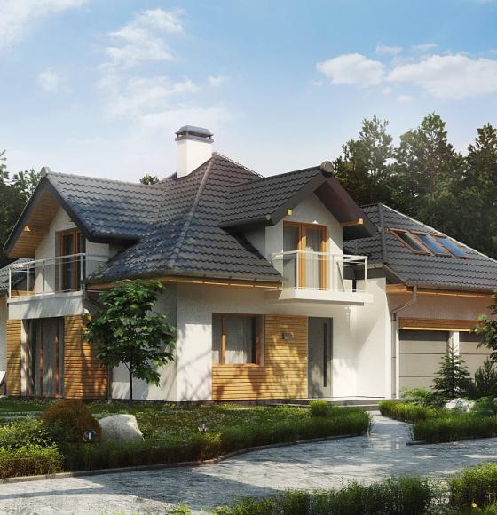 Топ-10 домов с балконом для комфортной жизни