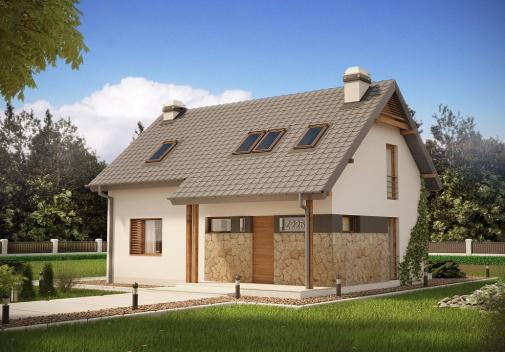 Проект дома Z225