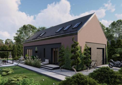Проект дома для одной семьи Z515