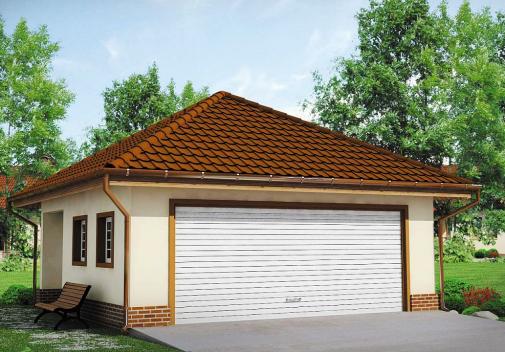 Проект дома Zg15