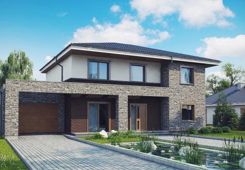 Проект дома Zx109 P