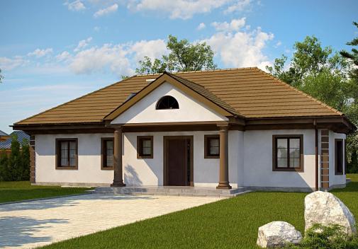 Проект дома Z2 + w p