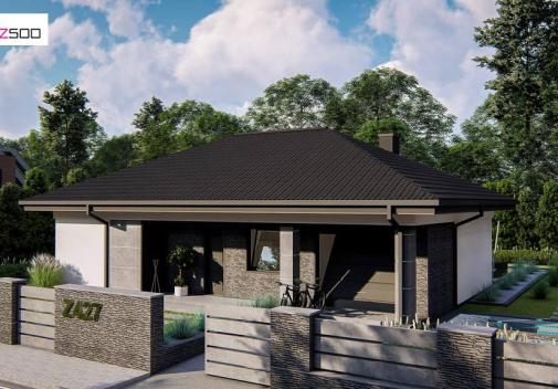 Проект дома Z427