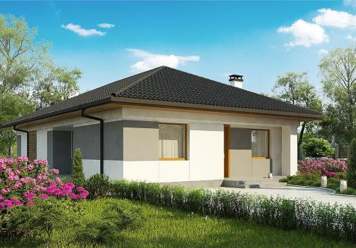 Проекты компактных домов до 150 м2 Z328