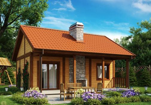 Проект дома Z42