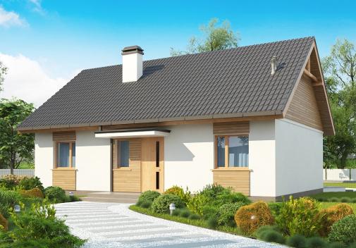 Проект дома Z313