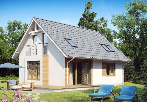 Проекты компактных домов до 150 м2 Z101