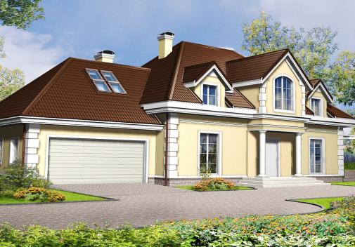 Проект дома Z50
