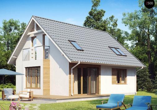 Проект дома Z101 PK