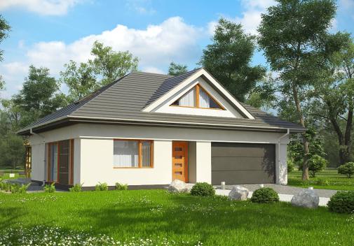 Проект дома Z306
