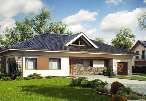 Проект дома Z153
