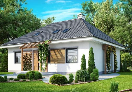 Проект дома Z121
