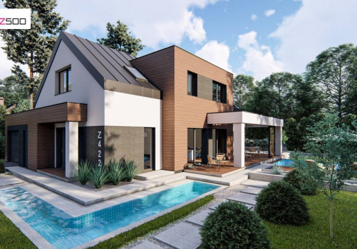 Проект дома Z422