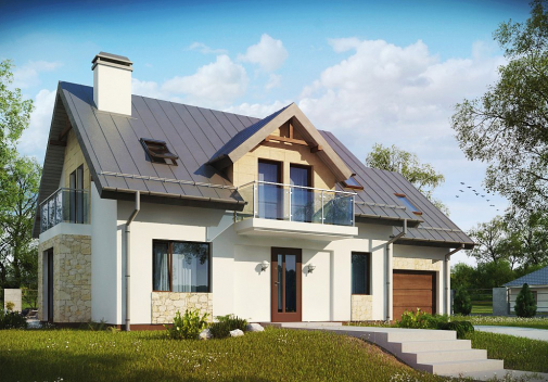Проект дома Z263
