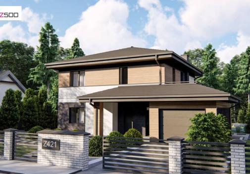 Проект дома Z421