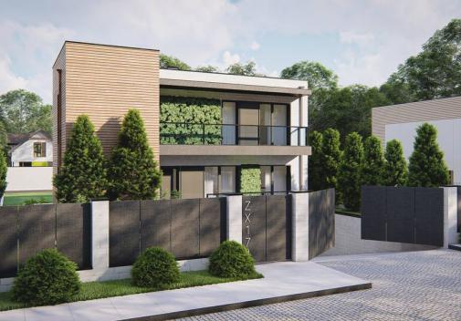 Проект дома Zx174