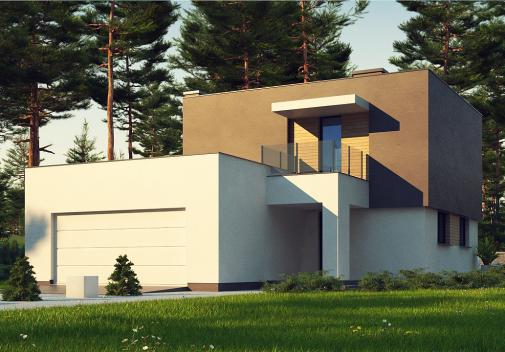 Проект дома Zx134