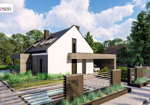 Проект дома Z467