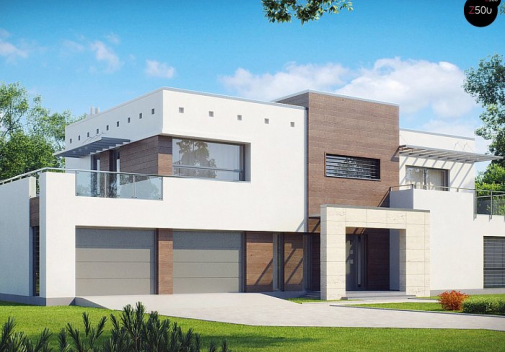 Проект дома Zx15 GL2 P