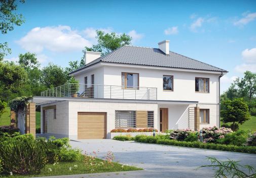 Проект дома Zx6