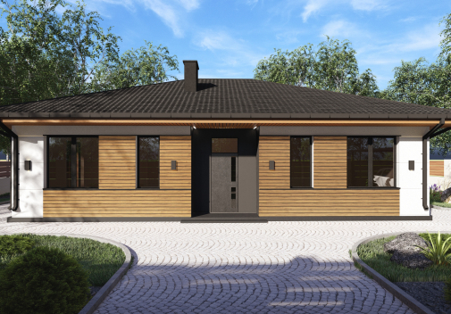Проект дома DB12 v1