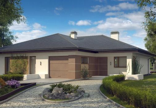 Проект дома Z268