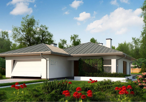 Проект дома Z367