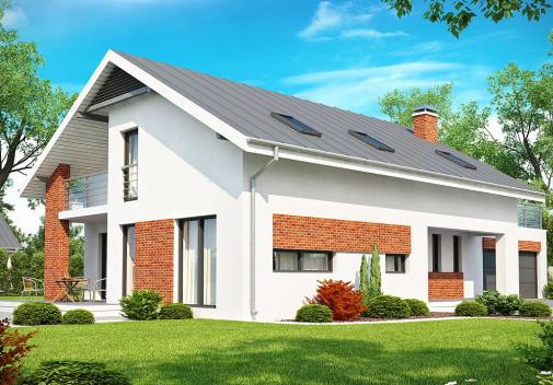 Проект дома Z161