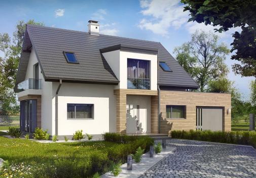 Проект дома Z189