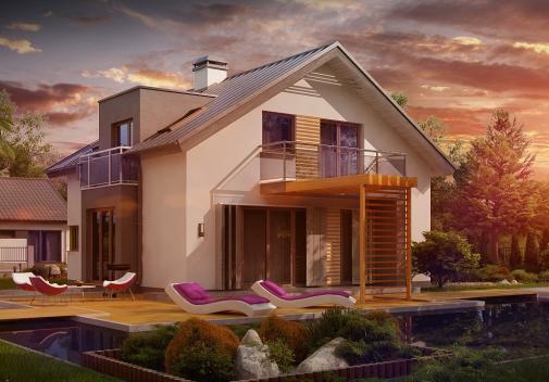 Проект дома Z245