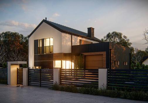 Проект дома Z414
