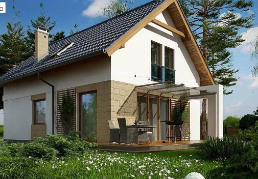 Проект дома Z177 +