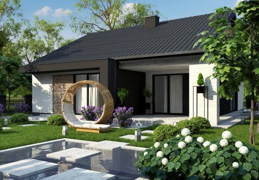 Проект дома Z460