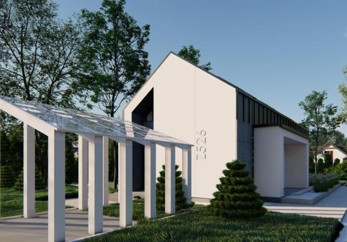 Проект дома для одной семьи Z526