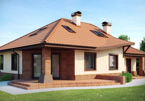 Проект дома Z56