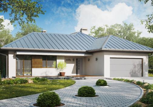Проект дома Z285