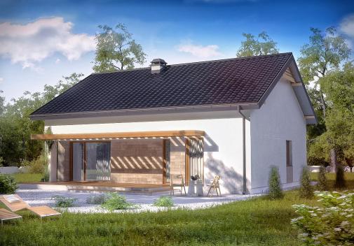 Проект дома Z261