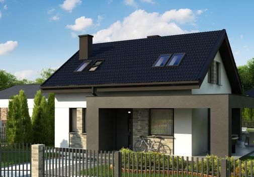 Проект дома Z382